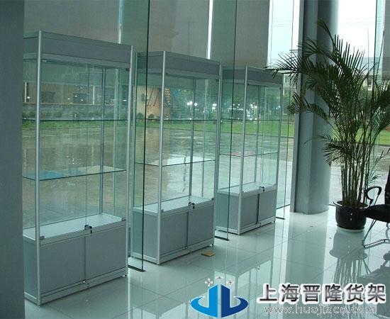 上海新型立式展柜图片