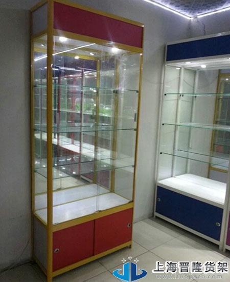 上海瓷器立式展柜各种图片款式选择
