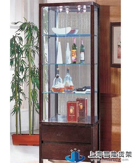 上海名烟名酒立式展柜