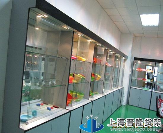 上海商场立式展柜2014新款图片