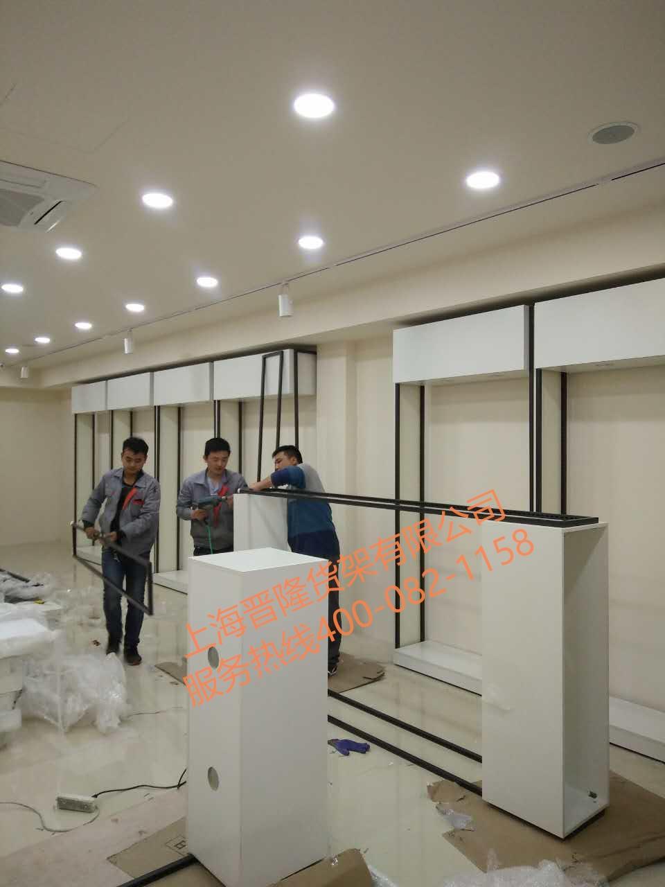 上海丰贤男装专卖展示柜