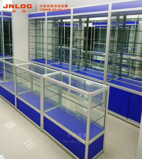 上海晋隆钛合金展柜